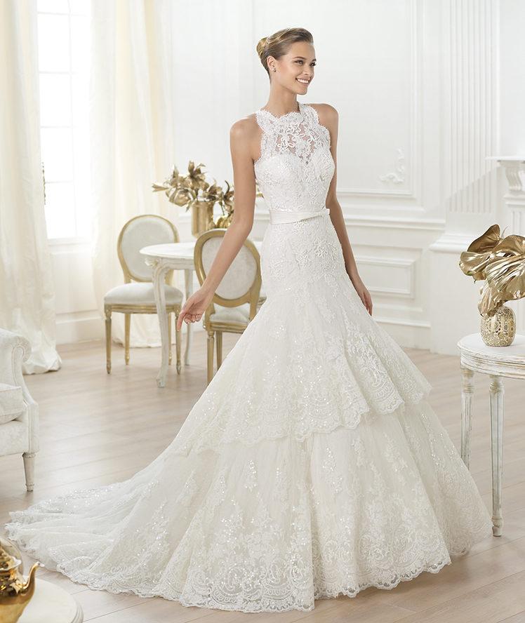 Весільні сукні 2014 - фото 82