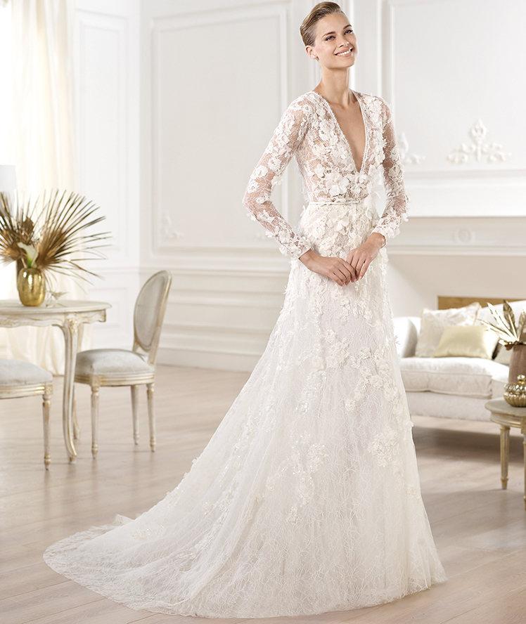 Весільні сукні 2014 - фото 90