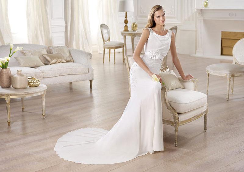 Модні тенденції весільних суконь 2014