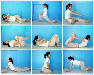 Лікувальна гімнастика для хребта