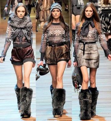 Модні тенденції осінь-зима 2014-2015 - фото 6