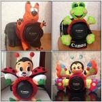 Іграшки на об'єктив фотоапарата