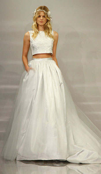 Весільні сукні 2015 - фото 15