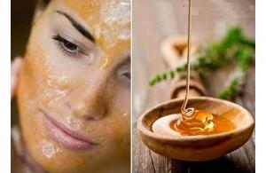Маски з меду для шкіри