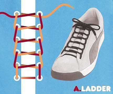 Як зав'язати шнурки 10