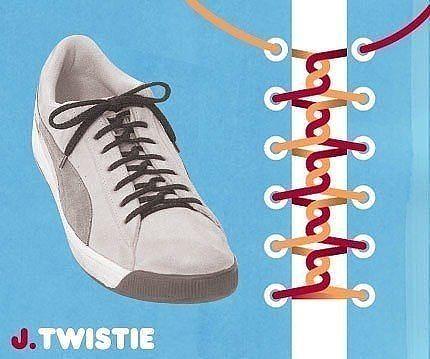 Як зав'язати шнурки 11