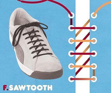 Як зав'язати шнурки 2