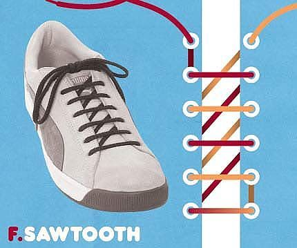 Як зав'язати шнурки 3