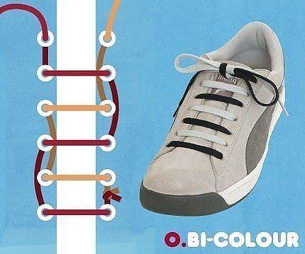 Як зав'язати шнурки 5