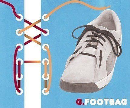 Як зав'язати шнурки 7