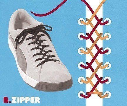 Як зав'язати шнурки 8