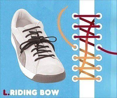 Як зав'язати шнурки 9
