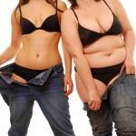 Про що говорить жир в різних зонах тіла