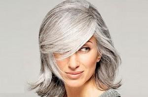 Причини появи сивого волосся