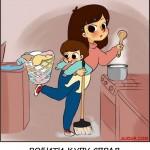 Бути матір'ю - це...