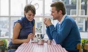 Розмова на першому побаченні з чоловіком